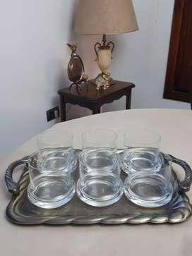 Vasos de whisky