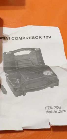 Compresor portátil p/reparar