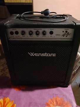 Amplificador activo/pasivo bajo/guitarra/teclado 20w impecable