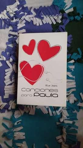Libro Canciones para Paula - Blue Jeans