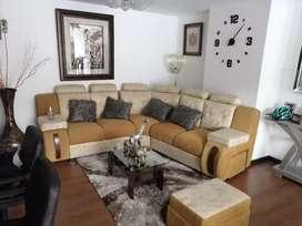 Confortable apartamento, Barrio las cuadras