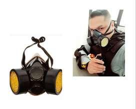 Mascarilla de filtros de carbono activado