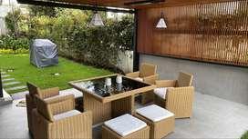 muebles de exterior como nuevos