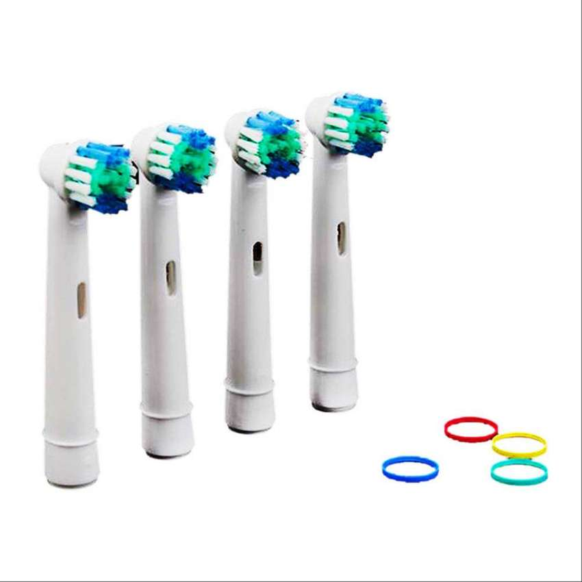 4 Repuestos Cabezas Oral B 3d Vita 0