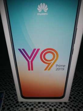 Huawei Y9 prain 2019 tiempo de uso 15 dias