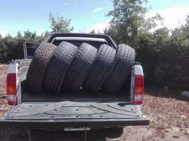 5 cubiertas usadas de camioneta