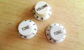 Juego De Botones Knobs Para Guitarra Eléctrica