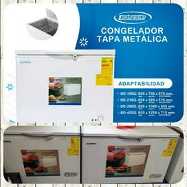 Congelador CONTINENTAL 218lts Dual