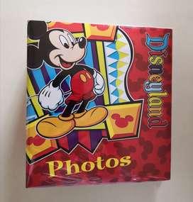 Álbum Mickey 10 x 15 cm.
