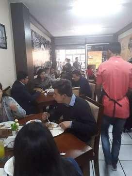 De oportunidad restaurante en zona centro de Ambato