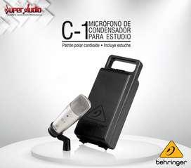 Micrófono de condensador C-1