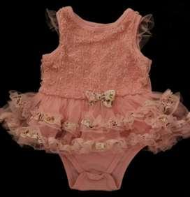 Vestido Tutu Bebe