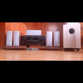 Sistema de alta calidad Marantz Onkyo amplificador parlantes teatro Yamaha Technics Denon Harman