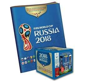 Caja Paqueton Album Rusia 2018 Panini Italy / Internacional
