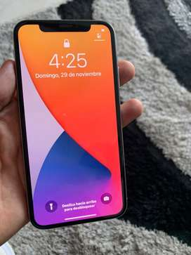 Iphone x de 64gb impecable ( sin face id )