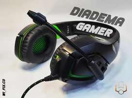 Diadema Gamer (Audífonos)