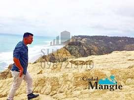 Lotes de 200m2 y Frente al Mar, 16.000 Usd con una entrada de 1.000 Usd, A 35 minutos de Manta, Credito Directo, SD1