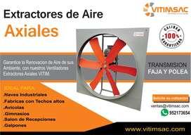 Extractor De Aire - Ventilador Industrial Axial