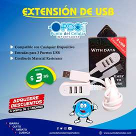 EXTENSIÓN DE USB