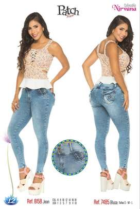 jeans levanta cola amkor jeans