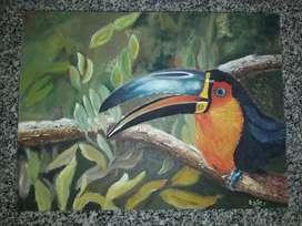 OPORTUNIDAD cuadro pintado a mano