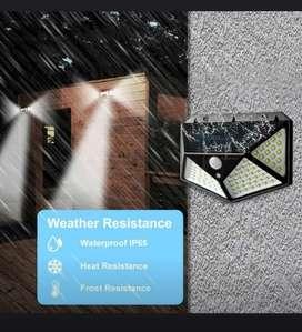 Reflectores solares de pared y piso (100 y 206 LEDs)