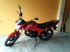 Vendo moto nueva, motor 150cc. Modelo 2018