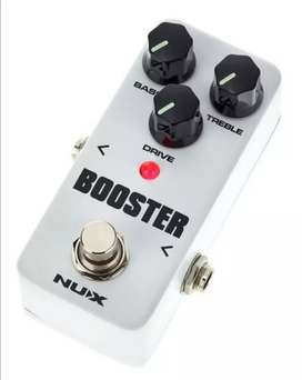 Pedal guitarra Booster Nux
