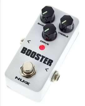 Pedal guitarra Booster Nux