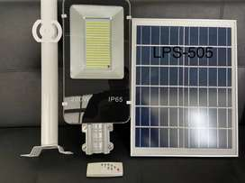 Lámpara solar 200w celda solar aislada con brazo