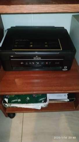 Computadora y impresona