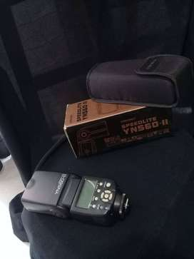 Flash Yongnuo Yn560 II Nikon Canon Impecable
