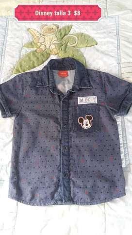 Camisa Disney de Niño