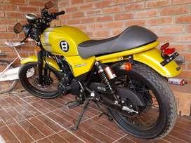 Moto infinity 250, marca Zongshen motor 249.9cc
