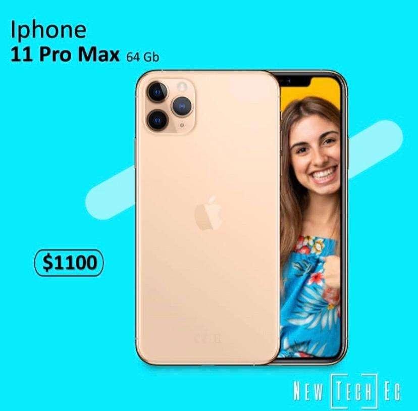 Iphone Pro Max Nuevo Selldo con garantia 0