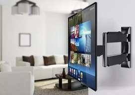 Bases con rotación y fijas disponibles para televisores