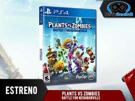 Plants VS Zombies: Battle for Neighborville Playstation 4