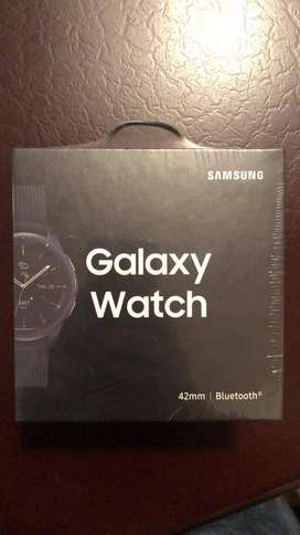 Samsung Galaxy Watch 42mm Midnight Black, Nuevo Impecable