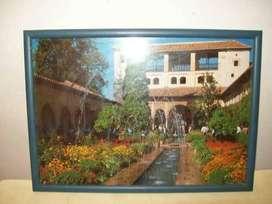 Cuadro Jardines de la Alhambra