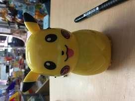 Parlante Pikachu Bluetooth microSd fm Usb Pendrive, flores
