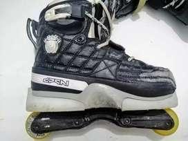 Patines roller deshi edición limitada, patines agressivos