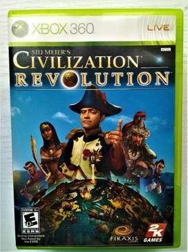 CD juego para Xbox360 Civilization Revolution