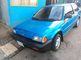 Solo vendo honda civic 86