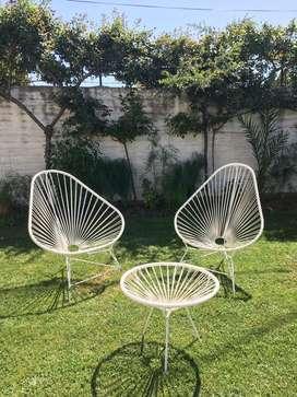 Juego de muebles de jardin Acapulco
