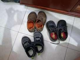 Lote de zapatos #24 niño