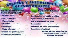 Eventos y animaciones Gerson Ramirez