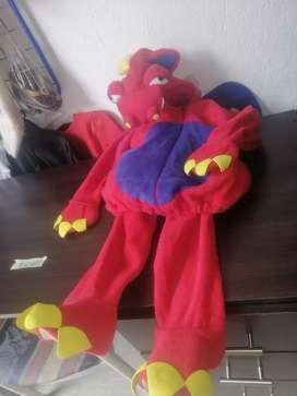 Hermoso disfraz de Dragón para niño