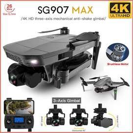 DRONE SG907 MAX  MEJOR QUE SG906 PRO 2 3 AXIS 3 EJES 4K BATERIA 2600 MAH 2021 MOTORES BRUSHLESS DRONE BUCARAMANGA