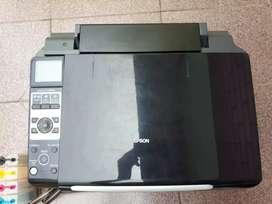 EPSON STYLUS CX8300  - imprime copia escanea wifi
