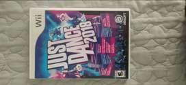 Disco Just Dance 2018 Nintendo Wii usado
